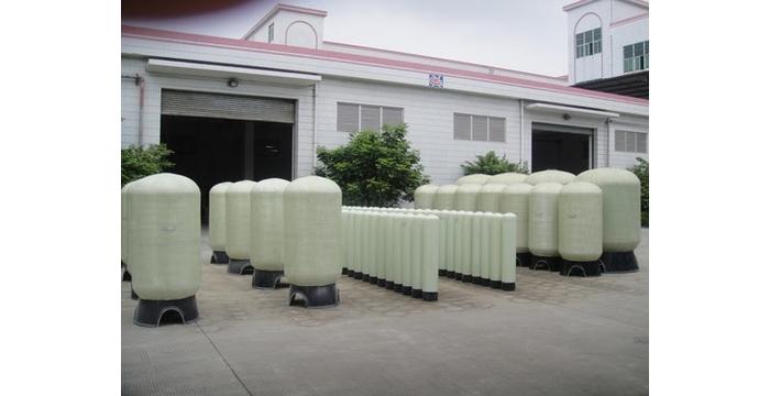 Cột lọc nước Composite trong ngành lọc nước - Cấu tạo và nguyên lý hoạt động