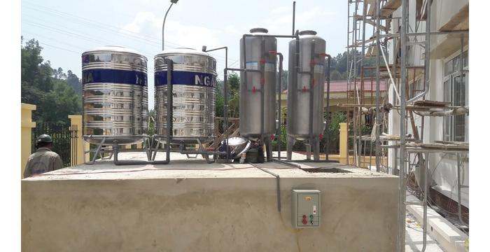 Thiết bị xử lý nước giếng khoan công nghiệp